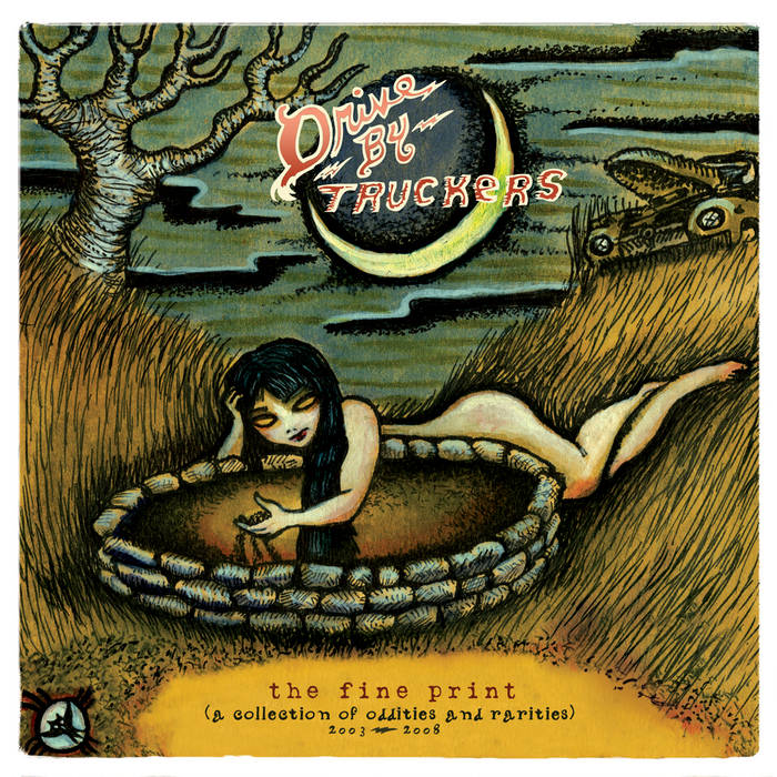 Drive-By Truckers - The Fine Print: Oddities & Rarities 2003-2008 2LP (Ltd Clear w/ Green Splatter Edition)