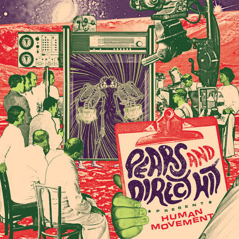 Pears & Direct Hit - Human Movement LP