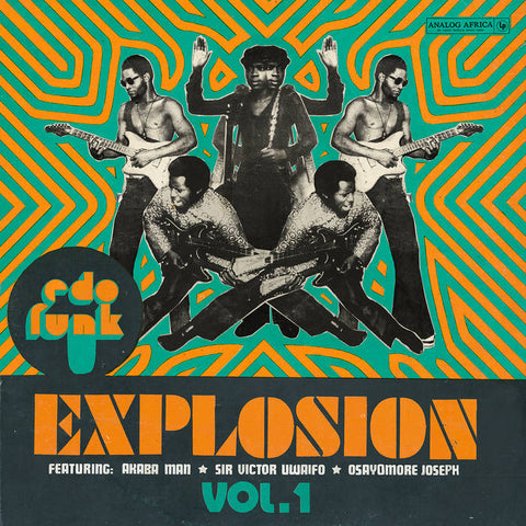 Various Artists - Edo Funk Explosion Vol. 1 2LP