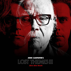 John Carpenter - Lost Themes III: Alive After Death LP (Ltd Red Vinyl Edition)