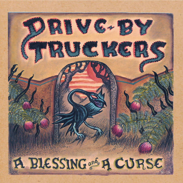 Drive-By Truckers - A Blessing and A Curse LP (Ltd Clear w/ Purple Splatter Edition)