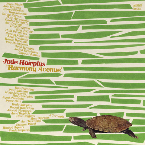 Jade Hairpins - Harmony Avenue LP