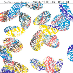 Pauline Anna Strom - Angel Tears in Sunlight LP (Ltd Clear Red Yellow Swirl Vinyl)