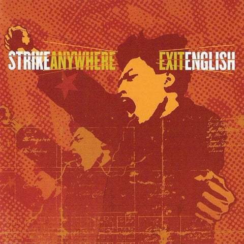 Strike Anywhere - Exit English LP (Ltd Color Vinyl Edition)