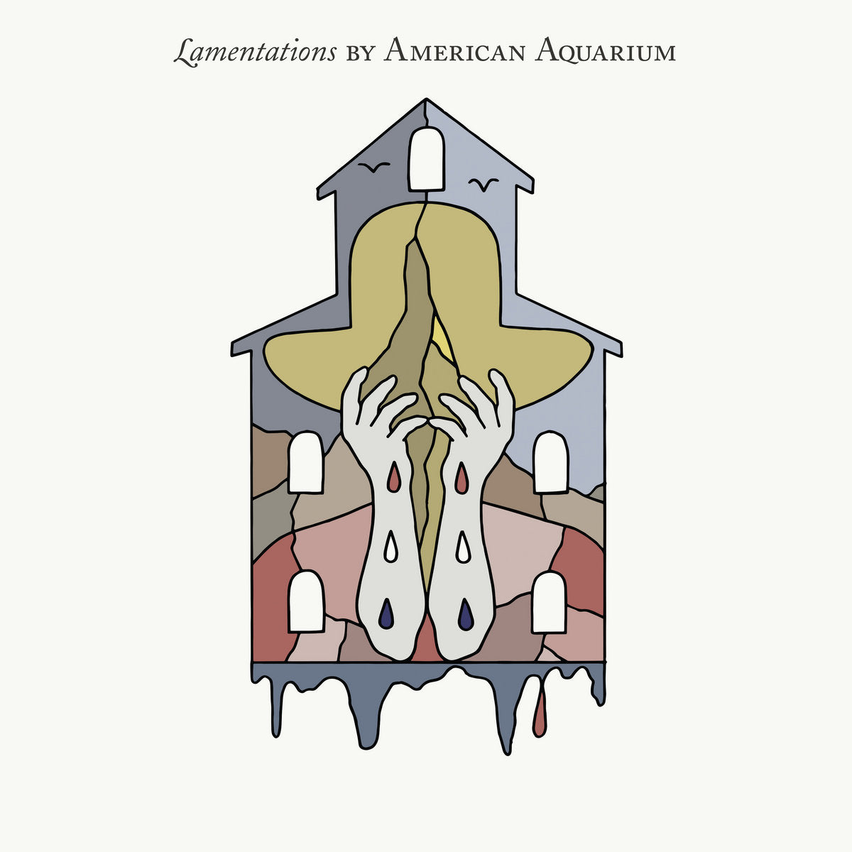 American Aquarium - Lamentations LP (Ltd Indie Exclusive Silver Vinyl Edition)