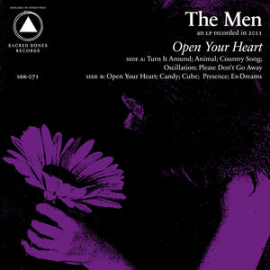 The Men - Open Your Heart LP (Ltd Purple Vinyl Edition)