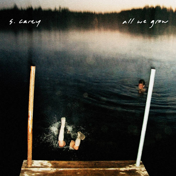 S. Carey - All We Grow: 10 Year Anniversary Edition LP (Ltd Seaglass Wave Vinyl)