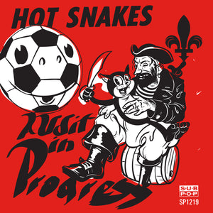 Hot Snakes - Audit in Progress LP (Ltd Pink Vinyl Edition)