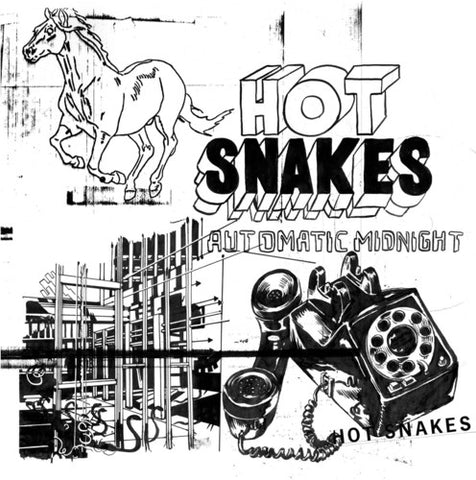 Hot Snakes - Automatic Midnight LP (Ltd Orange Vinyl Edition)