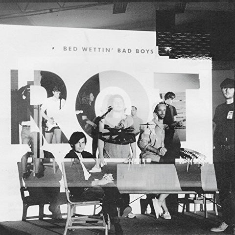 Bed Wettin' Bad Boys - Rot LP