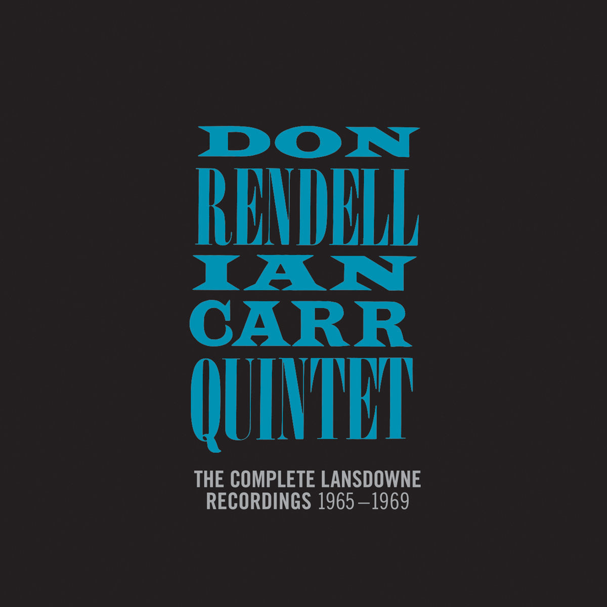 The Don Rendell / Ian Carr Quintet - The Complete Lansdowne Recordings: 1965-1969 5LP