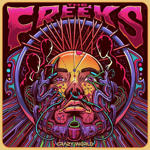 The Freeks - Crazy World LP