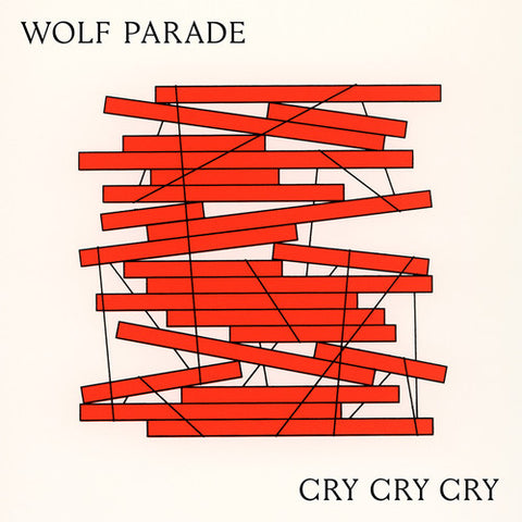 Wolf Parade - Cry Cry Cry 2LP (Ltd White / Cream Vinyl Loser Edition)
