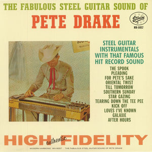 Pete Drake - The Fabulous Steel Guitar Sound of Pete Drake LP (Ltd Red Vinyl Edition)