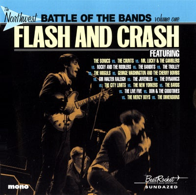 Various - The Northwest Battle Of The Bands Vol. 1: Flash And Crash LP