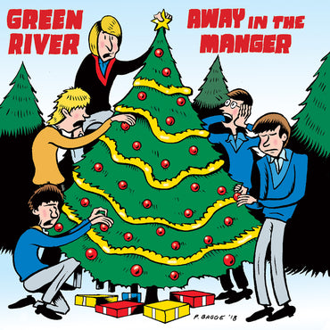 "Green River ""Away in a Manger"" b/w U-Men ""Blue Christmas"" 7"""