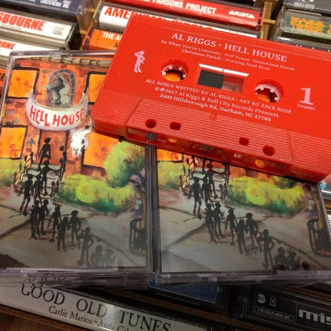 Al Riggs - Hell House CASSETTE