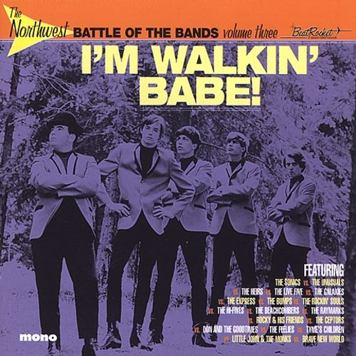 Various - The Northwest Battle Of The Bands Vol. 3: I'm Walkin' Babe! LP