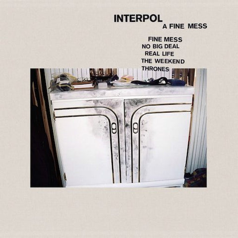 Interpol - A Fine Mess 12""
