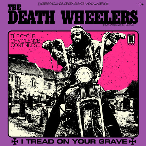 The Death Wheelers - I Tread on Your Grave LP