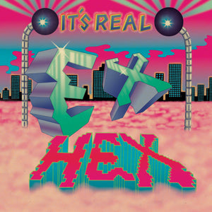 Ex Hex - It's Real LP (Ltd Magenta Blue Swirl Vinyl Edition)