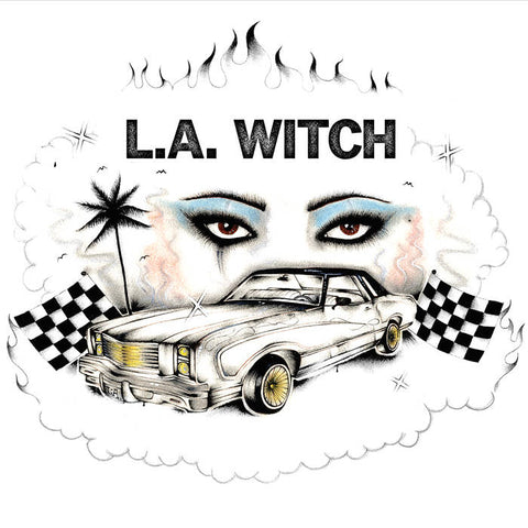 L.A. Witch - L.A. Witch LP (Ltd Translucent Pink Vinyl Edition)