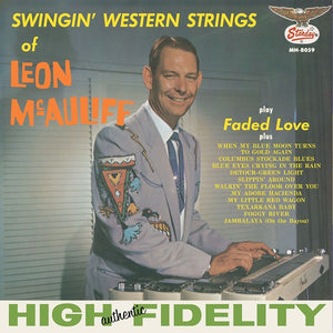Leon McAuliff - Swingin' Western Strings of Leon McAuliff LP (Ltd Blue Vinyl Edition)
