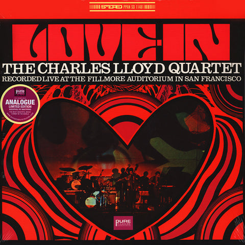 The Charles Lloyd Quartet - Love-in: Live at the Fillmore Auditorium LP