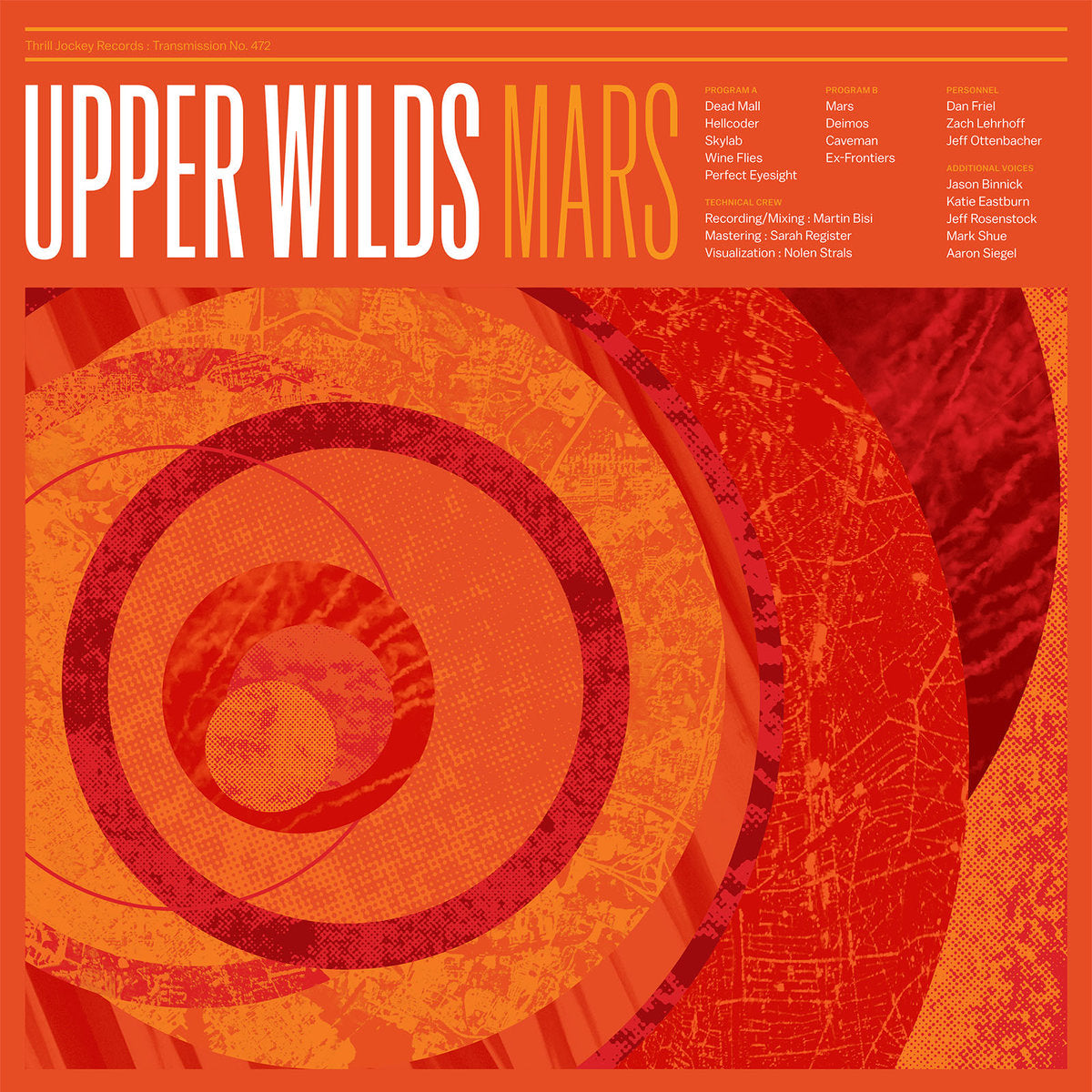 Upper Wilds - Mars LP