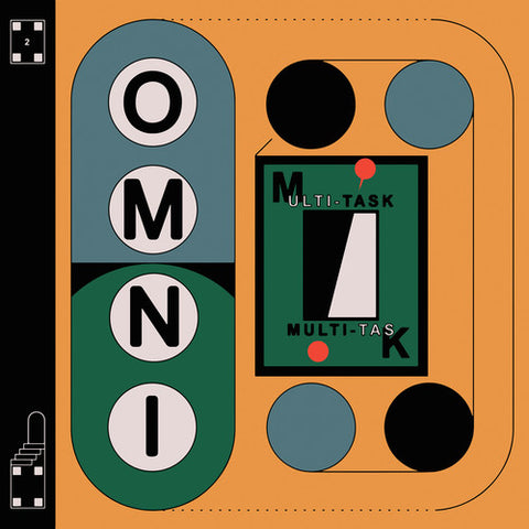 Omni - Multi-task LP (Ltd Red Vinyl Edition)