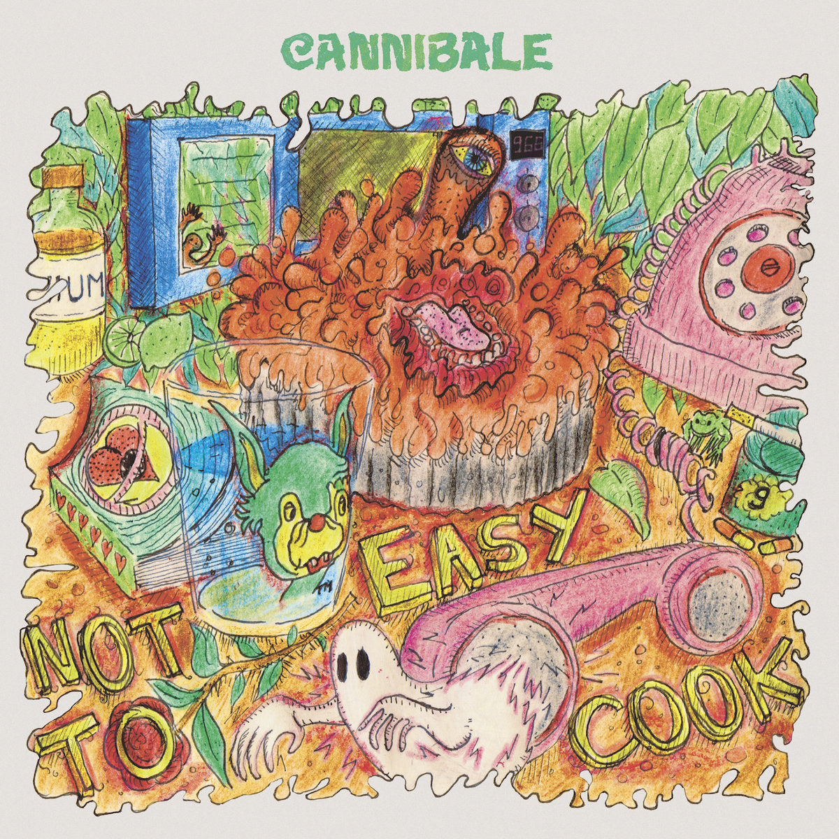 Cannibale - Not Easy to Cook LP