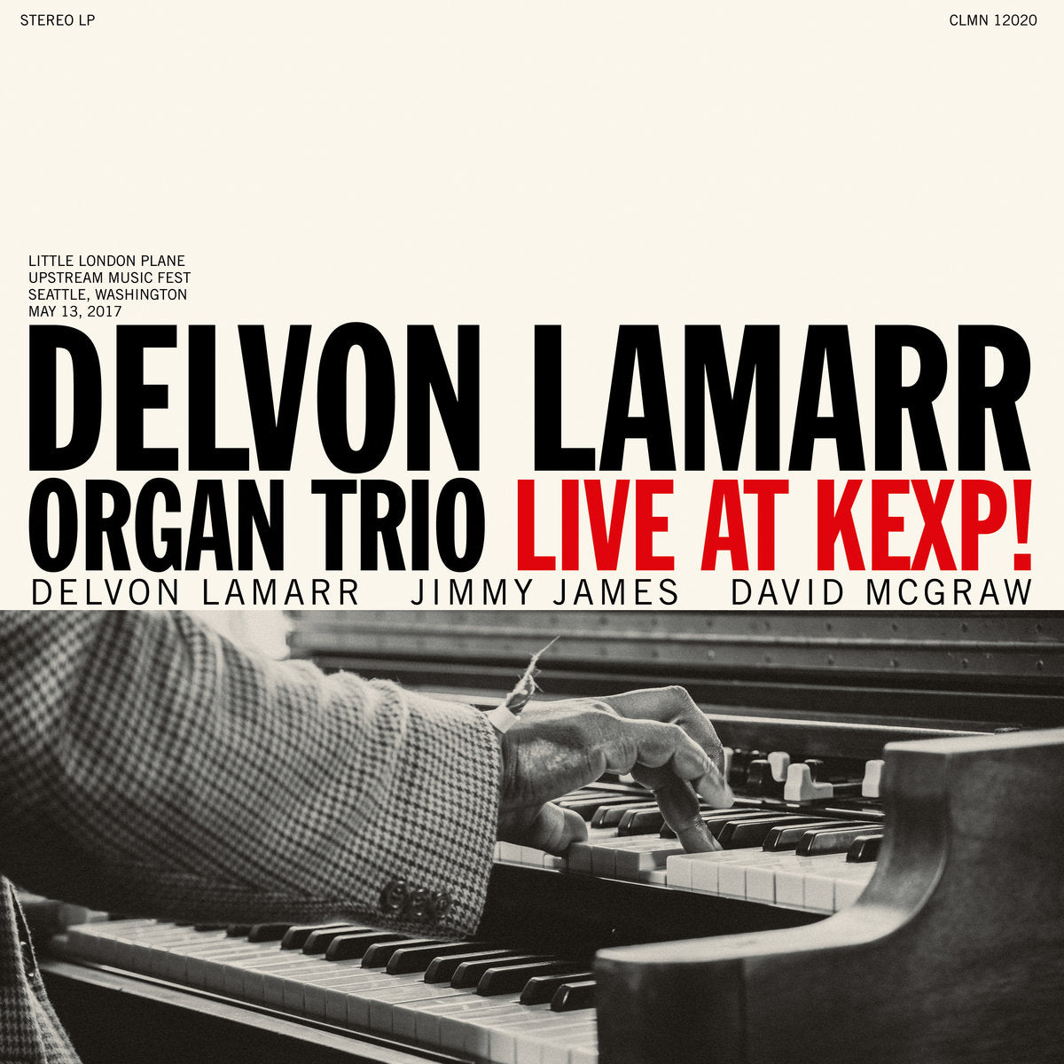 Delvon Lamarr Organ Trio - Live at KEXP! LP