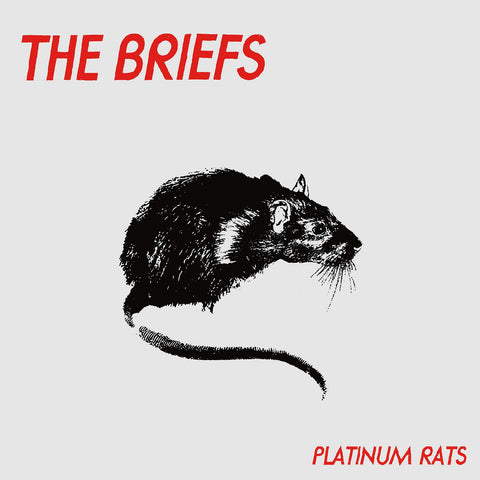 The Briefs - Platinum Rats LP