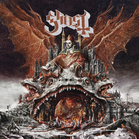 "Ghost- Prequelle LP (Ltd Clear Vinyl Edition + 7"")"