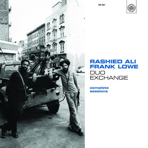 Rashied Ali & Frank Lowe - Duo Exchange: Complete Sessions 2LP