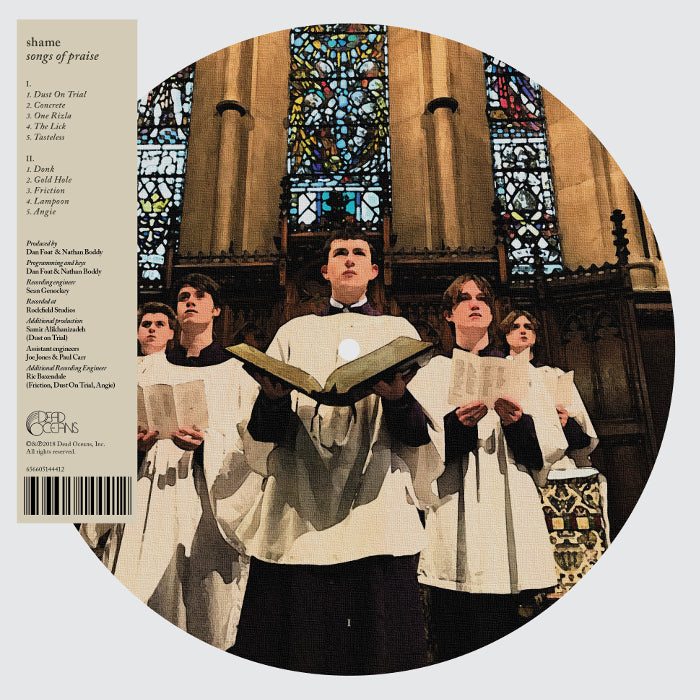 Shame - Songs of Praise LP (Picture Disc Edition)