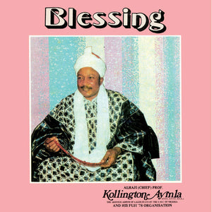 Kollington Ayinla and His Fuji '78 Organisation - Blessing LP