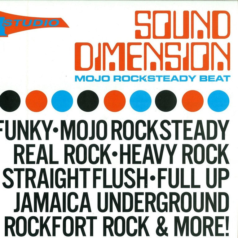 Various - Sound Dimension: Mojo Rocksteady Beat 2LP