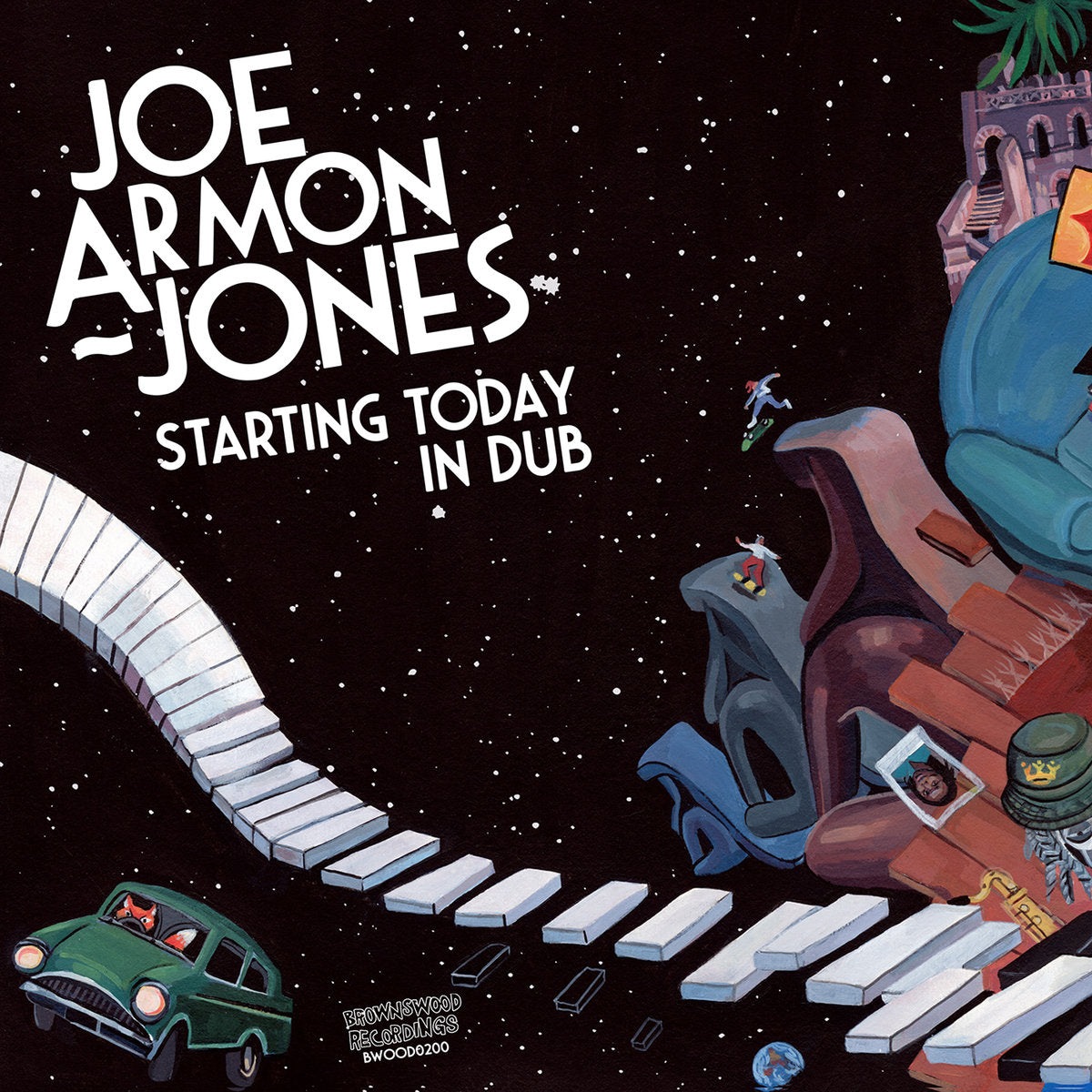 Joe Armon-Jones - Starting Today in Dub 12""