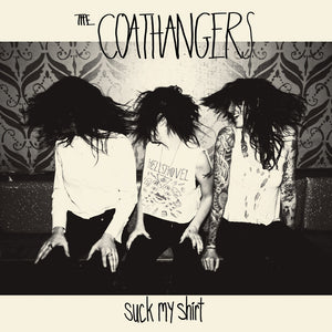 The Coathangers - Suck My Shirt LP (Ltd White Black Swirl Vinyl Edition)