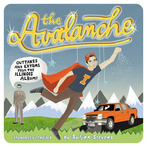 Sufjan Stevens - The Avalanche 2LP (Ltd Hatchback Orange + Avalanche White Edition)