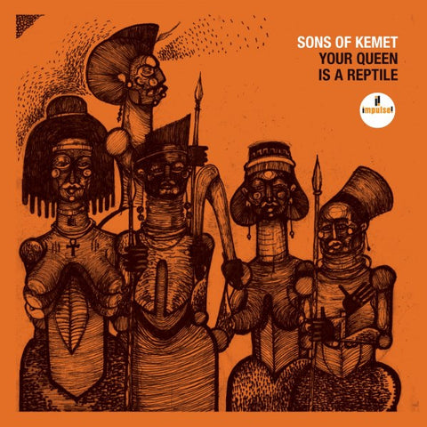 Sons of Kemet - Your Queen Is a Reptile 2LP