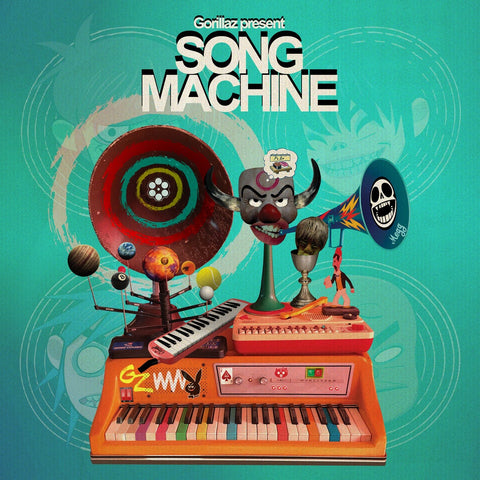 Gorillaz - Song Machine, Season One LP (Ltd Indie Exclusive Orange Vinyl)