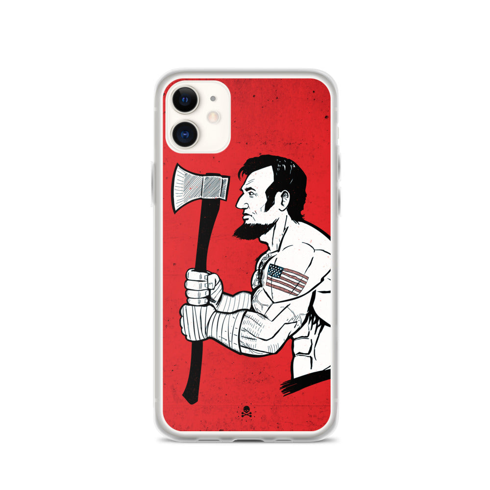 Savage Abe iPhone Case
