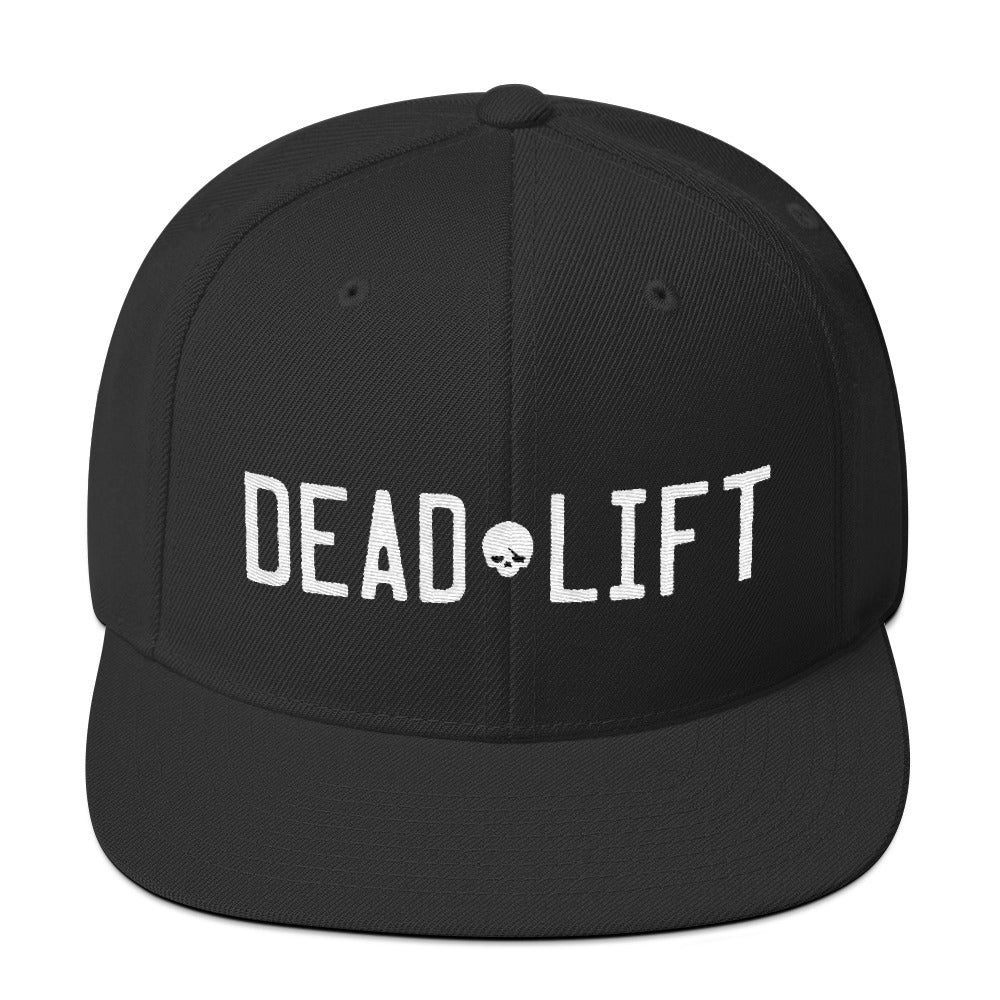 Deadlift Snapback - Black