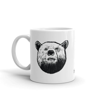 Grizzly Head Mug