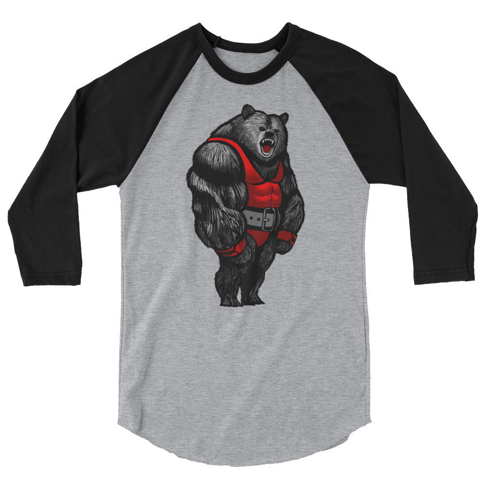 Grizzly 3/4 Sleeve Baseball Tee