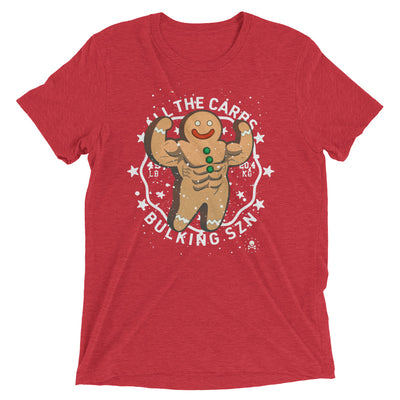 Gingerbread Flex Tri-Blend T-Shirt