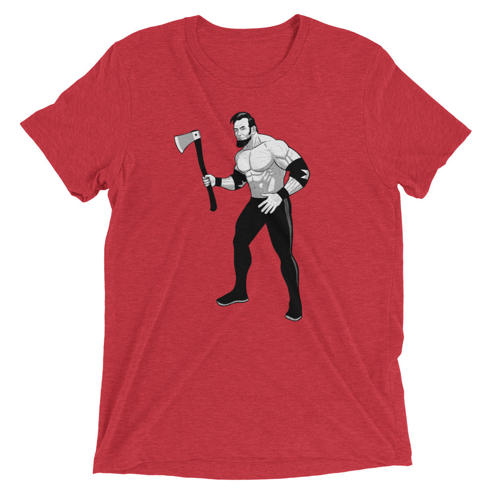 Savage Abe Fight Tri-blend T-shirt