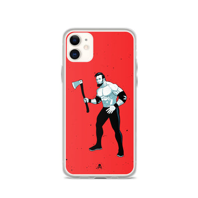 Savage Abe Fight iPhone Case
